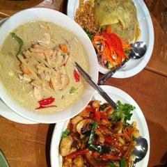 Photo taken at Pi-Tom's Thai Cuisine by Patrick J. on 4/19/2012