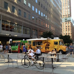 Photo taken at Food Truck Court by Larry on 7/12/2012