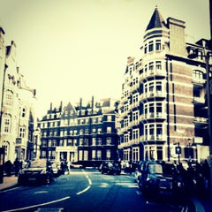 Photo taken at Knightsbridge by Ahmed A. on 8/27/2012