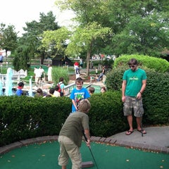 Photo taken at Udders and Putters Mini Golf Course by Steven R. on 8/12/2012