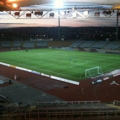 Photo taken at Don Valley Stadium by David R. on 3/20/2012