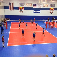 Photo taken at Great Lakes Volleyball Center by Sam D. on 4/21/2012