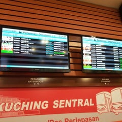 Photo taken at Kuching Sentral by Robert on 7/15/2012