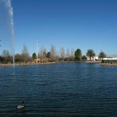 Photo taken at Parque Municipal Las Albercas by Darío M. on 3/20/2012