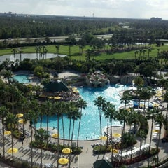 Photo taken at Orlando World Center Marriott by Cathleen M. on 3/15/2012