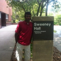 Photo taken at Sweeney Hall by Prashanth S. on 8/7/2012