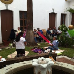 Photo taken at Instituto Oaxaqueno de las Artesanias by Vivianne M. on 3/19/2012