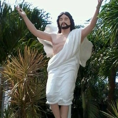 Photo taken at National Shrine of the Divine Mercy by adrielle v. on 4/5/2012