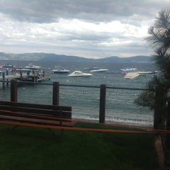 Photo taken at Tahoe Park Homeowners Beach by laura h. on 7/19/2012