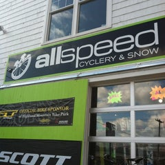 Photo taken at AllSpeed Cyclery and Snow by Jay M. on 2/25/2012