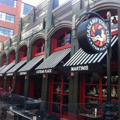 Photo taken at Gaslamp Strip Club Restaurant by Armie on 8/14/2012