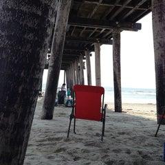 Photo taken at Ocean City Fishing Pier by Alan on 8/14/2012