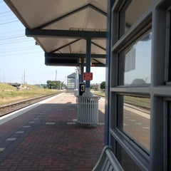 Photo taken at Richland Hills Station (TRE) by David S. on 5/5/2012