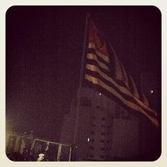 Photo taken at Espaço Urucum by Caio B. on 3/18/2012