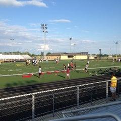 Photo taken at Avon High School Oriole Stadium by Bob S. on 6/5/2012