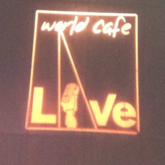 Photo taken at World Cafe Live by Christina R. on 8/30/2012