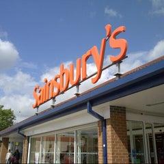Photo taken at Sainsbury's by Cristina L. on 8/2/2012