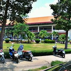 Photo taken at มหาวิทยาลัยมหาสารคาม (Mahasarakham University) by Chapakkawat C. on 4/26/2012