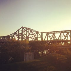 Photo taken at Brent Spence Bridge by Bart S. on 9/12/2012