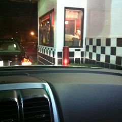Photo taken at Checkers by Justin W. on 3/3/2012