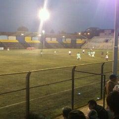 Photo taken at Estadio Ruben Marcos Peralta by Pedro R. on 3/17/2012