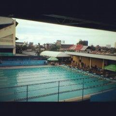 Photo taken at Abellana Swimming Pool by Cj G. on 9/8/2012
