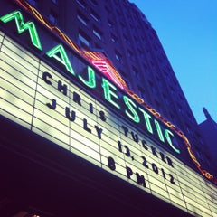 Photo taken at The Majestic Theatre by Michael R. on 7/14/2012