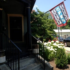 Photo taken at Heather's Coffee & Cafe by Christina A. on 6/20/2012