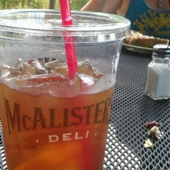 Photo taken at McAlister's Deli by Lily T. on 6/13/2012
