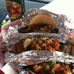 Photo taken at Las Palapas Taco Grill by Maritza on 2/29/2012