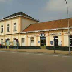 Photo taken at Halte Station Geel by Filip S. on 5/22/2012