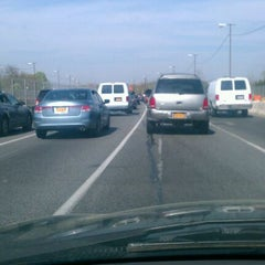 Photo taken at Belt Parkway by Daniel L. on 4/16/2012