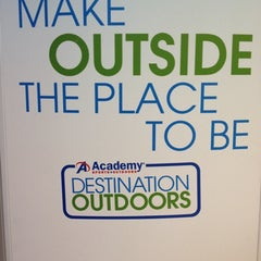 Photo taken at Academy Sports + Outdoors by L. A. H. on 3/29/2012