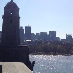 Photo taken at Longfellow Bridge by David L. on 4/15/2012