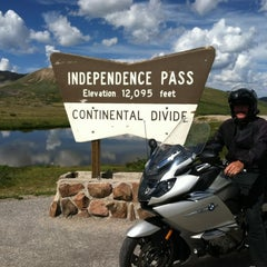 Photo taken at Independence Pass by Cindi P. on 7/21/2012