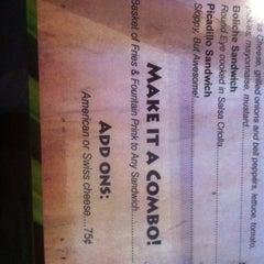 Photo taken at Hugo's Spanish Restaurant by Elissa P. on 8/11/2012