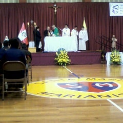 Photo taken at Colegio Santa María Marianistas by Kattee U. on 9/12/2012