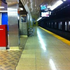Photo taken at Dundas Subway Station by John G. on 7/21/2012