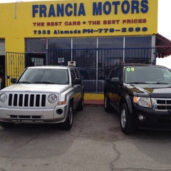 Photo taken at Francia Motors by Cris v. on 2/24/2012
