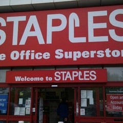 Photo taken at Staples by Karin C. on 5/19/2012