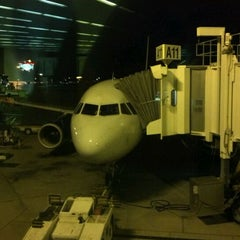 Photo taken at US Airways Flight 390 by Nick L. on 2/3/2012