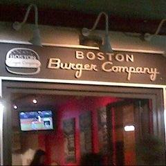 Photo taken at Boston Burger Company by Steven M. W. on 9/13/2012