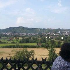 Photo taken at Schwärzlocher Hof by Ivan O. on 7/25/2012