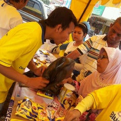 Photo taken at Pasar Perumnas by Rina A. on 8/5/2012