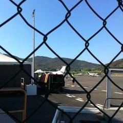 Photo taken at Aeroporto by Claudia L. on 8/4/2012