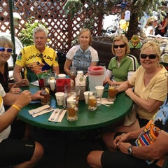 Photo taken at Woody Creek Tavern by Ken S. on 8/4/2012