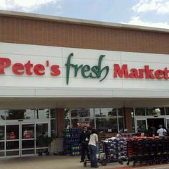 Photo taken at Pete's Fresh Market by Ronald B. on 5/21/2012