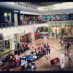 Photo taken at Galerías Santo Domingo by Johann P. on 6/14/2012