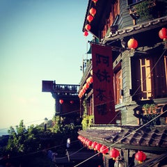 Photo taken at 九份老街 Jiufen Old Street by Clement C. on 8/21/2012
