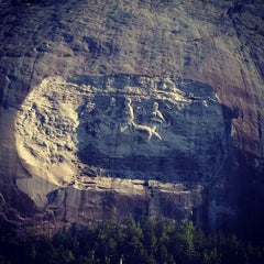 Photo taken at Stone Mountain Park by Chaz W. on 6/17/2012